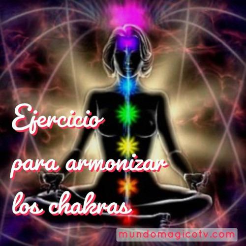 ejercicios armonizar chakras