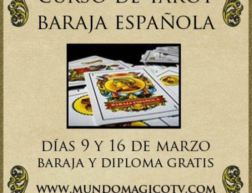 PRÓXIMO CURSO DE TAROT CON BARAJA ESPAÑOLA