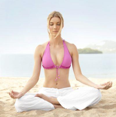 Yoga flor de loto