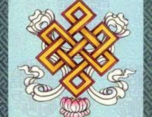 8 Signos Ashtamangala. Nudo sin fin o eterno.