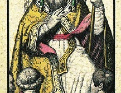 Carta de Tarot (El Sumo Sacerdote)