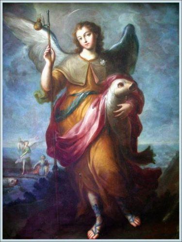 oracion amor sanrafael arcangel